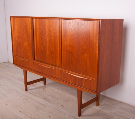Danish Sideboard by E. W. Bach for Sejling Skabe, 1960s