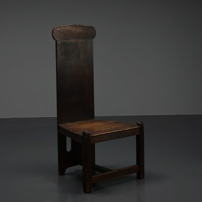 Arts & Crafts side chair, 1940s
