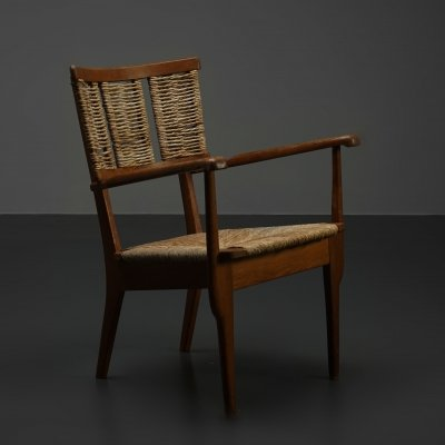 Rare & Important 'Reconstruction' chair by Mart Stam, 1940s
