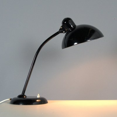 Vintage table lamp model '6556' by Christian Dell, 1930s