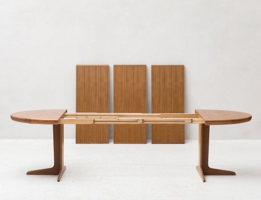 XL dining table by VV Mobler, Denmark 1960