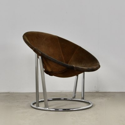 Armchair by E. Lusch for Lusch & Co., Germany 1970s