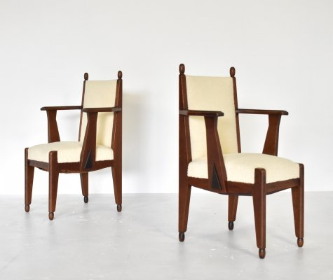 Pair of armchairs by Jacques van den Bosch for 't Binnenhuis, 1925