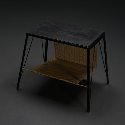 Custom made 1950s Record player table