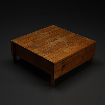 Modernist coffee table by Architect J. Wearstley, 1969
