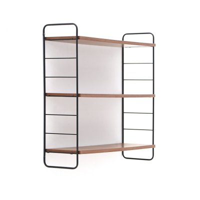 Hanging bookcase with three shelves, 1960s