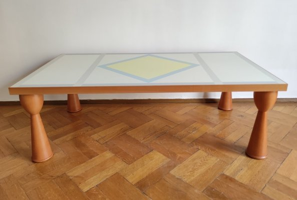 Alicudi Coffee Table by Ettore Sottsass for Zanotta, Italy 1990's