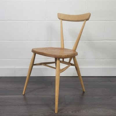 Ercol Single Back Stacking Dining Chair, 1960s