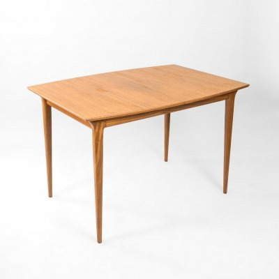 Extendable dining table model T1 by Tom Robertson for A.H. Mcintosh & Co, 1970's
