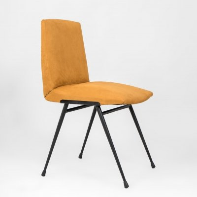 Yellow vintage chair, France 1970's