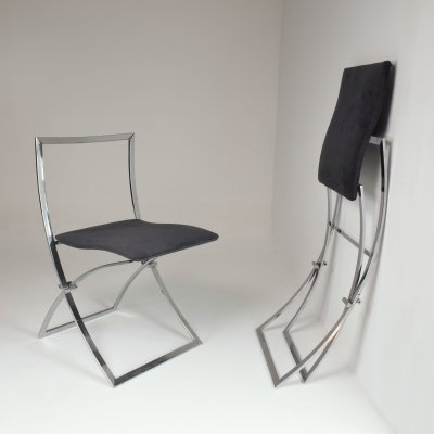 1970's Italian Marcello Cuneo Foldable Chairs