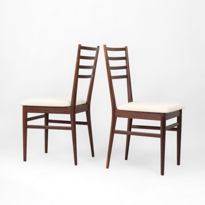 Set of 2 chairs in teak afrormosia from Meredew Furniture UK, 1960's