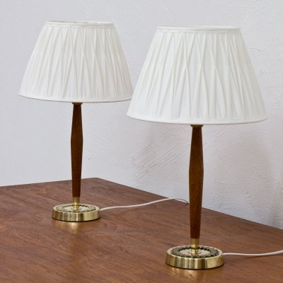 Swedish Table Lamps by Hans Bergström for ASEA, 1950s