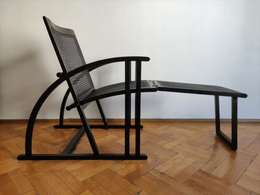 Arc Easy Lounge Chair by Pascal Mourgue for Triconfort France, 1983