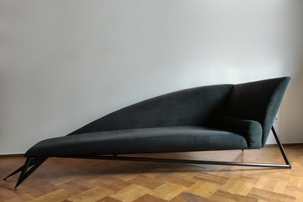 Jean Louis Godivier Sofa by UP8, 1987
