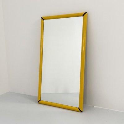 Yellow Wall Mirror from Valenti, 1980s