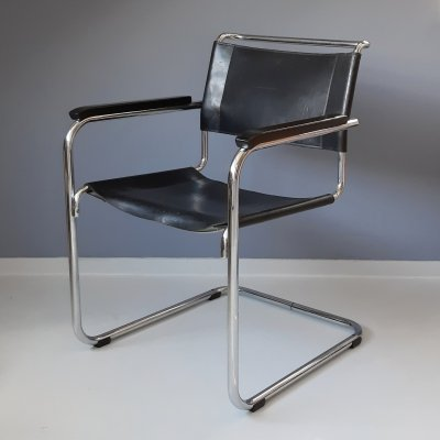 S34 Chair by Mart Stam for Thonet, 1980s