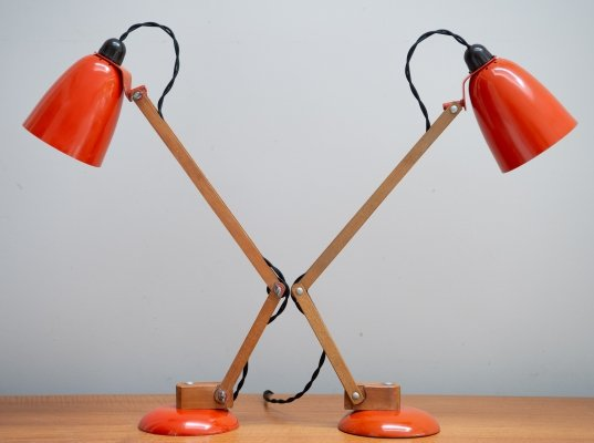 Pair of Early Production Maclamps by The Maclamp Company England