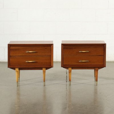Pair of 1950s Bedside Tables