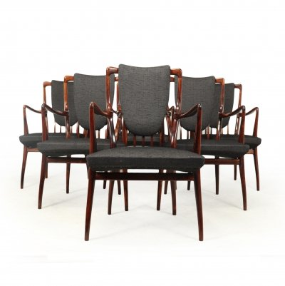Set of 6 Carver Chairs by Andrew Milne