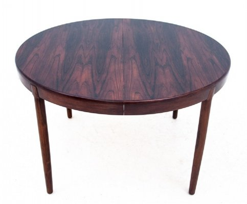 Round rosewood table, Denmark 1960s
