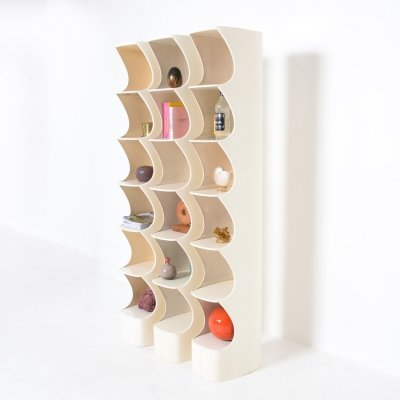 Totem Shelf by Valeric Doubroucinskis for Rodier, 1973