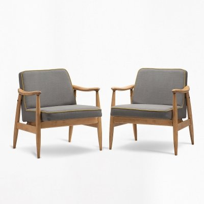 Pair of GFM-87 armchairs, 1970s