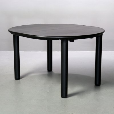 Table 'round oval' Model 721 by Dieter Rams for Vitsoe, 1970s