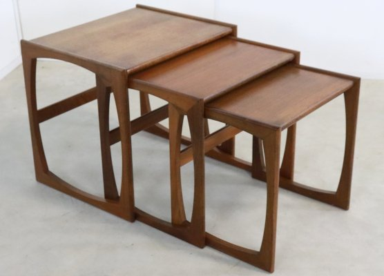 Nesting tables by G plan, 1960s