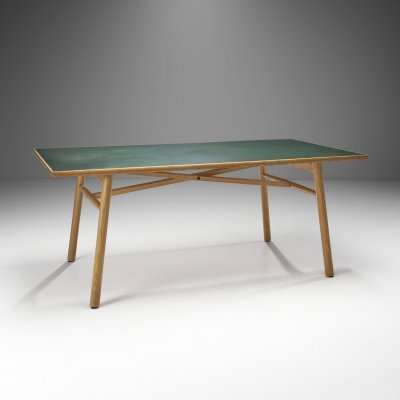 Poul M. Volther 'C35 FDB' Dining Table for FDB Møbler, Denmark 1950s