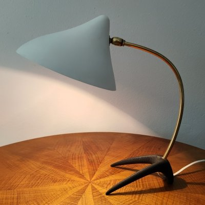 Vintage design Crow's foot table light by Cosack, 1950's