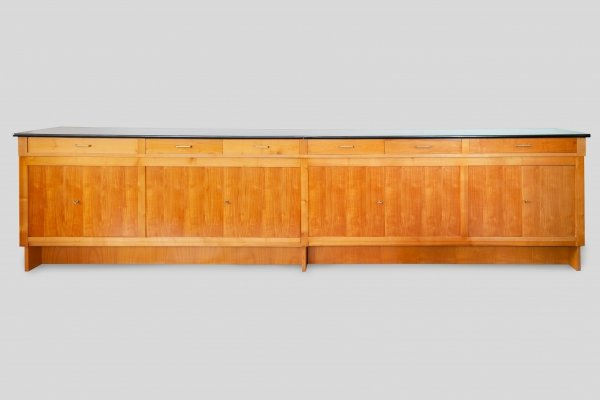 Large Sideboard in Ash Wood, 1960s
