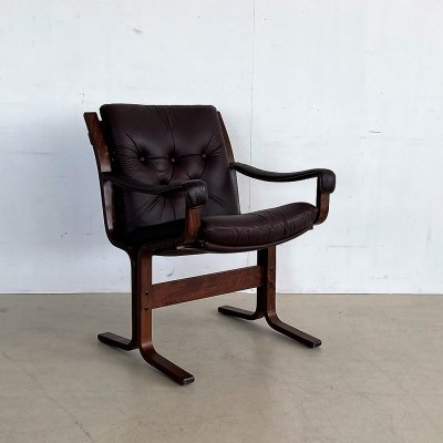 Arm chair by Ingmar Relling for Westnofa, 1970s