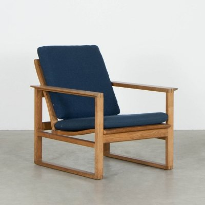 Model 2256 lounge chair by Børge Mogensen for Fredericia Stolefabrik, 1960s