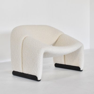 Groovy M-Chair lounge chair by Pierre Paulin for Artifort, 1970s