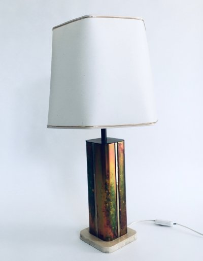 Hollywood Regency Style Table Lamp by Fedam, Holland 1970's