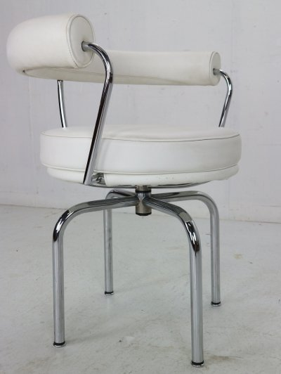 Charlotte Perriand & Le Corbusier 'LC7' Swivel Chair for Cassina, Italy 1970s