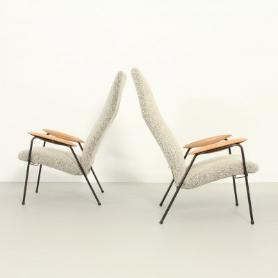 Pair of Contour Armchairs by Alf Svensson