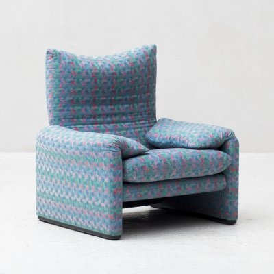 'Maralunga' Easy chair by Vico Magistretti for Cassina, Italy 1973