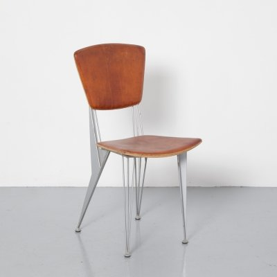 T/38 Chair by Studio Archirivolto for Fasem, 1980s