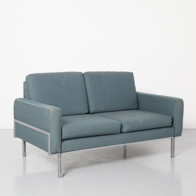 Blue Two-Seater Sofa, 1960s