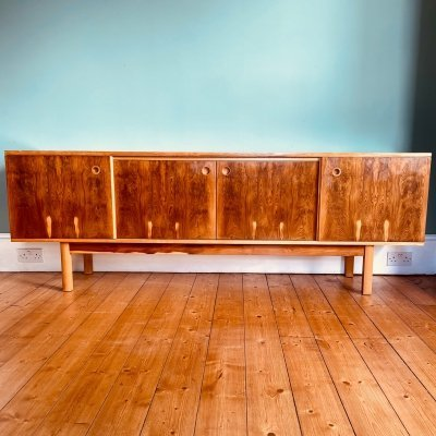 Very Rare Robert Heritage for Archie Shine Sideboard in Rosewood & Yew