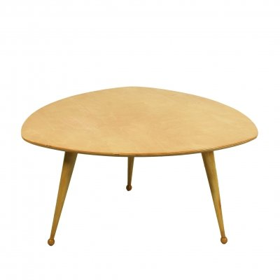 Kidney shaped coffee table by Cees braakman for UMS Pastoe