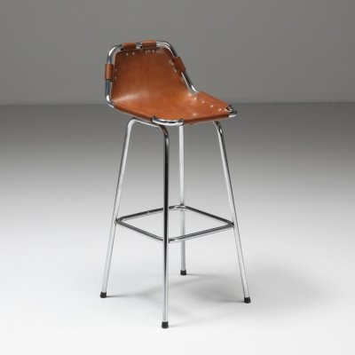 High Bar Stool selected by Charlotte Perriand for the Les Arcs Ski Resort, 1960s