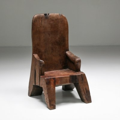Wooden chair, 1800's