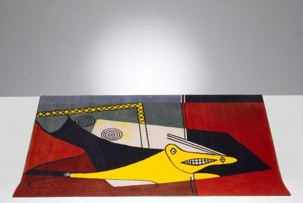 Limited edition rug by Pablo Picasso for Desso