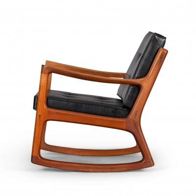 Senator Rocking chair by Ole Wanscher for France & Son, 1960s