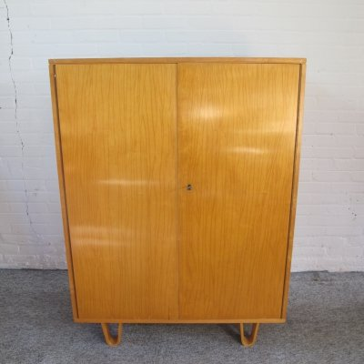Cabinet highboard CB06 birch series by Cees Braakman for Pastoe, 1950s