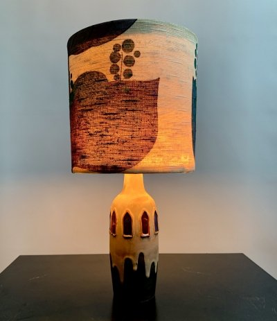 Table lamp by Ceramano El Paso for West Germany, 1950
