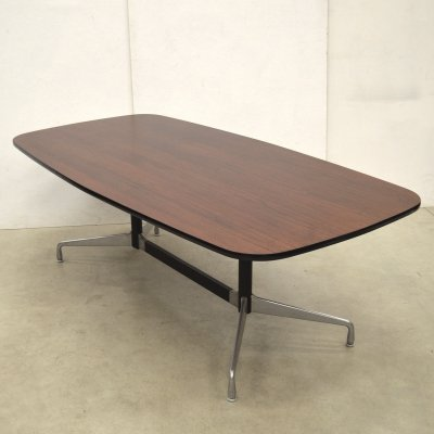 Rosewood Segmented dining table by Charles & Ray Eames for Herman Miller, 1970s